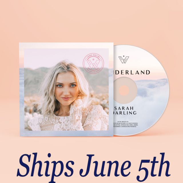 Sarah Darling AUTOGRAPHED CD- Wonderland-PRESALE